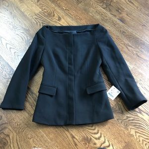 Zara Off Shoulder Blazer Jacket - NWT